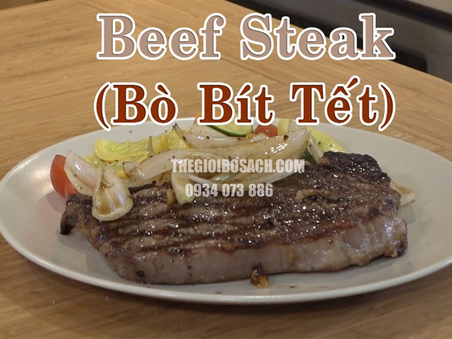 Cách ướp thịt bò với nước trái cây