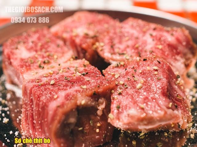 Cách sơ chế thịt bò