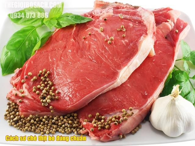 Cách sơ chế thịt bò đúng chuẩn