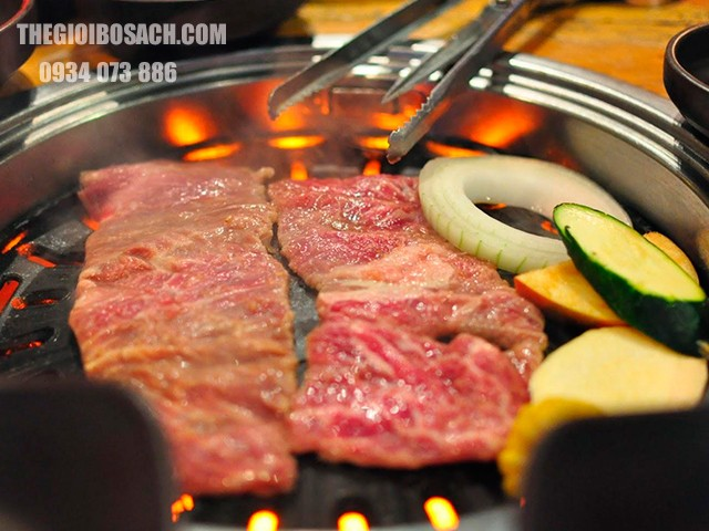 Quy trình làm thịt bò nướng Hàn Quốc
