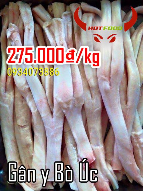 Gân y bò Úc - nguyên liệu tuyệt vời cho nhiều món ngon