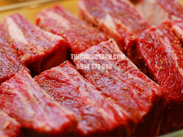 Thịt bò úc ngoại nhập khẩu