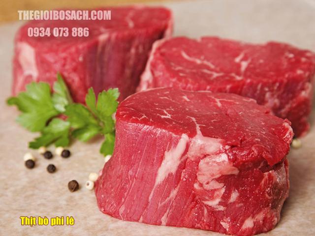 Thịt bò phi lê là gì?
