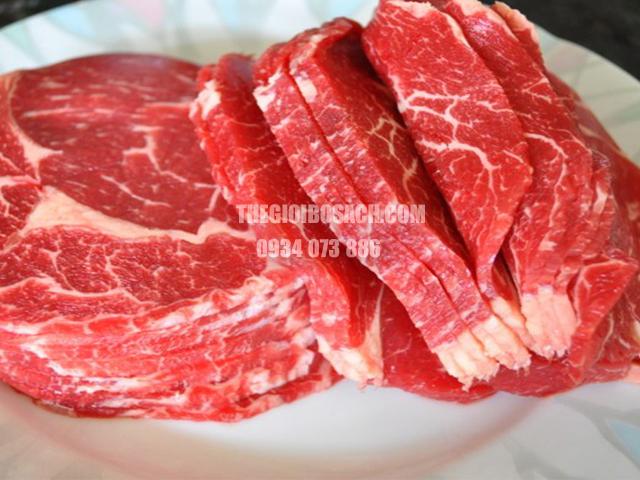 Bảng giá thịt bò nhập khẩu các loại tham khảo