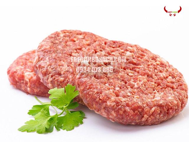Địa chỉ bán thịt bò Mỹ xay các kiểu