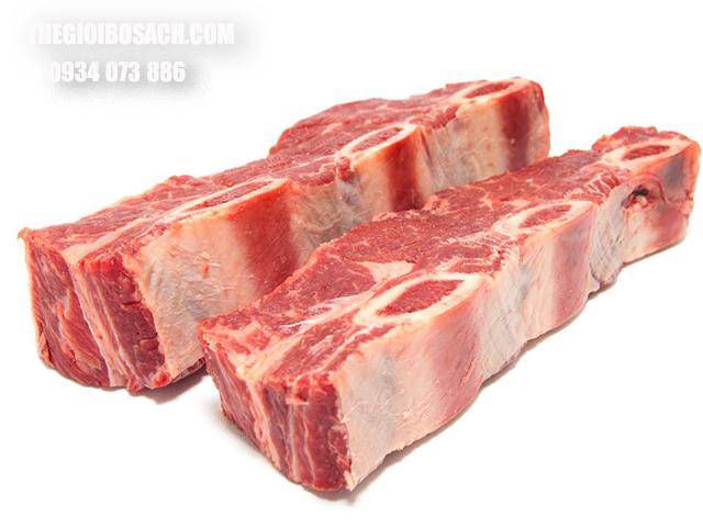 Thành phần dinh dưỡng có trong xương sườn bò Úc