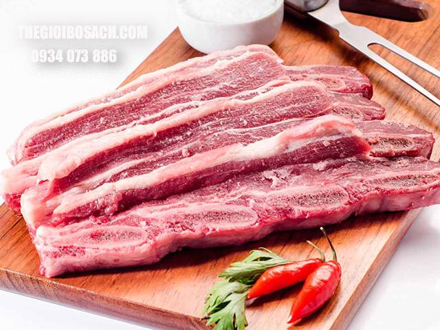 Địa chỉ bán xương sườn bò chất lượng